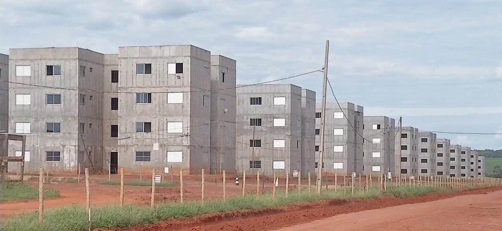 Residencial Celina Bezerra é considerado o maior conjunto habitacional do programa Minha Casa, Minha Vida no estado — Foto: TVCA/ Reprodução