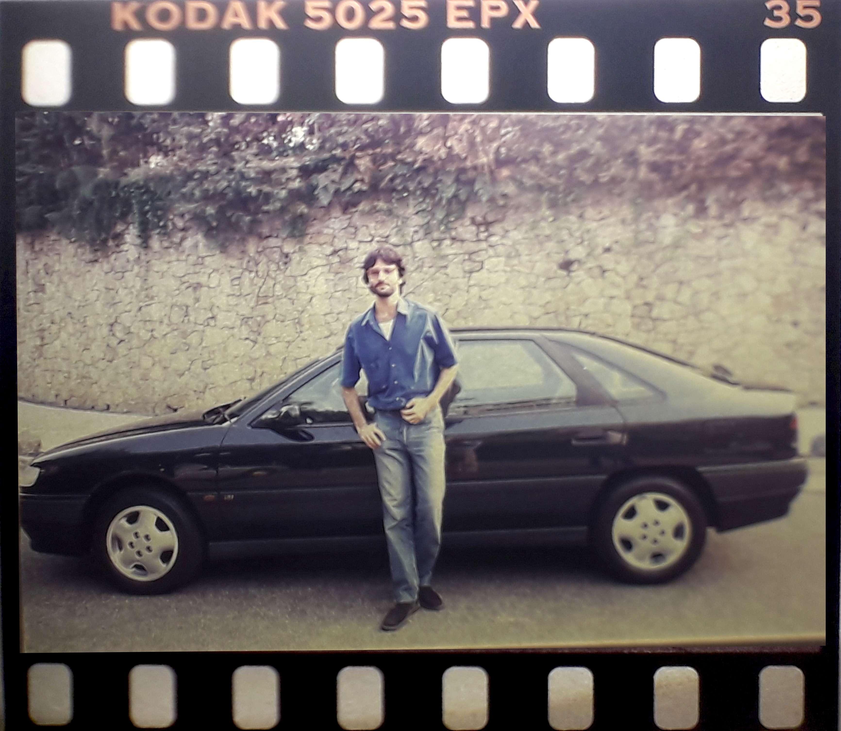 Henrique Koifman e o Renault Safrane 1993