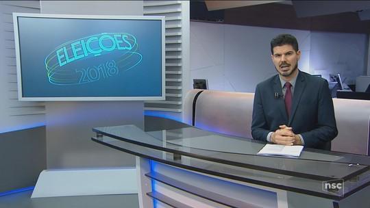 Veja a agenda dos candidatos ao governo de SC nesta quarta-feira (5)