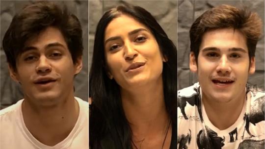 Lucas Veloso, Maria Joana e Nicolas Prattes comentam reta final do 'Dança dos Famosos'