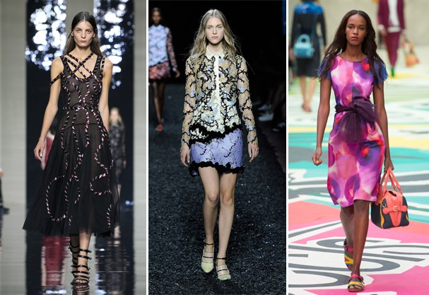 Christopher Kane, Mary Katrantzou e Bruberry são destaque (Foto: Getty Images)