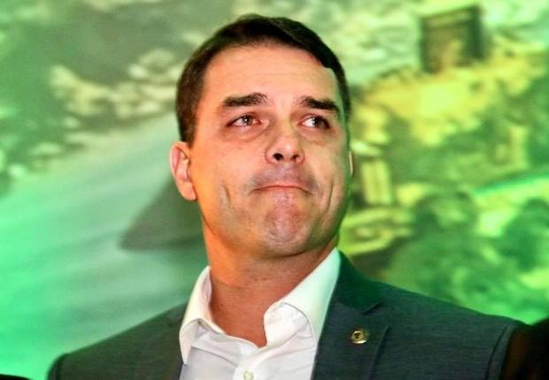O senador eleito Flavio Bolsonaro (PSL) (Foto: Reprodução/Facebook)