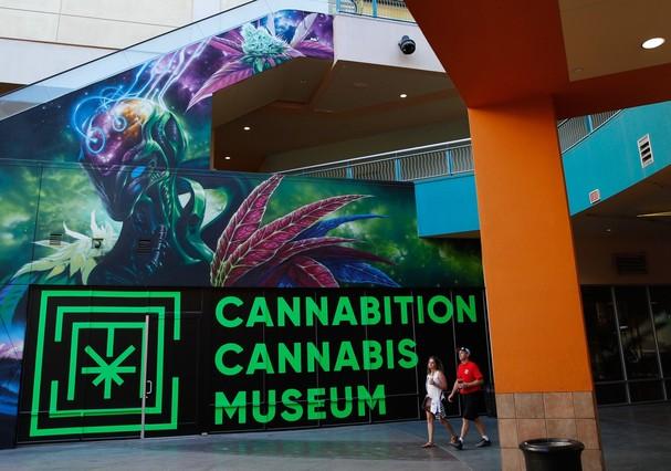 Museu da Maconha abre em Las Vegas (Foto: Divulgação/John Locher-AP)