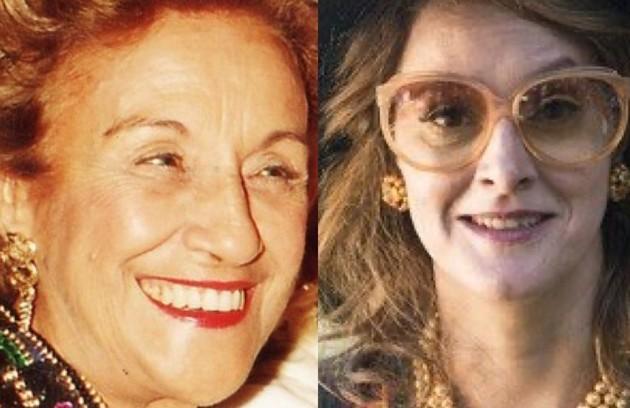 Outra grande amiga que Hebe teve em sua vida foi a atriz Nair Bello, que na série é vivida por Cláudia Missura (Foto: Divulgação - TV Globo)
