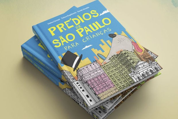 Livro para crianças registra arquitetura dos prédios de São Paulo (Foto: Divulgação)