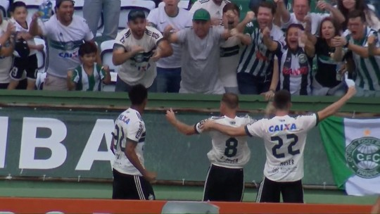 """Jogadores do Atlético-PR não se abalam com derrota e veem """"tudo aberto"""" na final"""