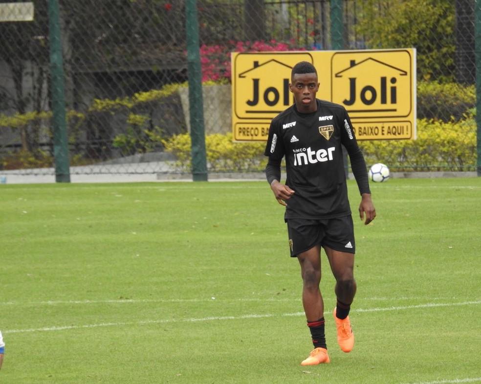 Cássio, do São Paulo, foi emprestado ao Portimonense, de Portugal  — Foto: Marcelo Hazan