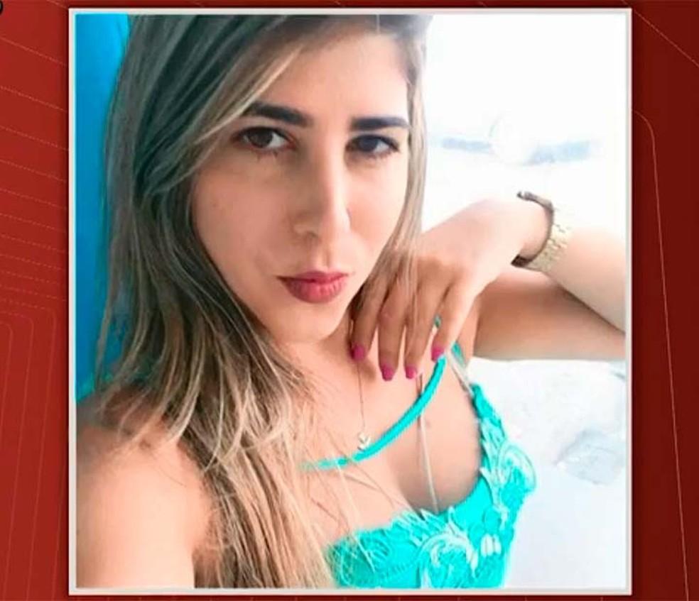 Isabel Cristina Moraes, de 35 anos, foi morta por asfixia  (Foto: Reprodução/TV Bahia)
