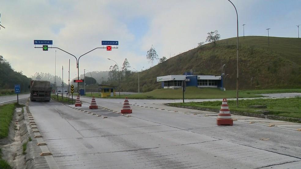 MPF quer balanças funcionando 24 horas nas estradas do Espírito Santo — Foto: Reprodução/ TV Gazeta