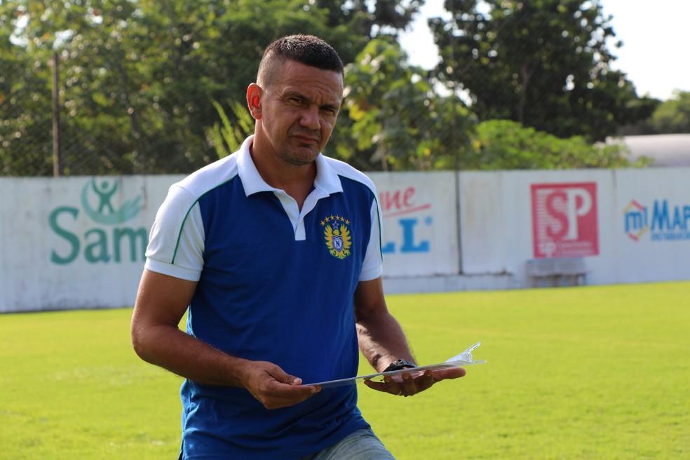 Técnico Garanha diz que Naça tem condições de garantir vaga na final (Foto: Divulgação/Nacional FC)