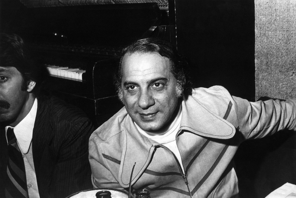 Tito Madi, cantor e compositor brasileiro, em 1974 — Foto: Estadão Conteúdo/Arquivo