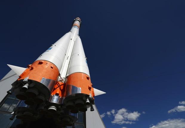 Soyuz museu espacial de Samara (Foto: Dean Mouhtaropoulos/Getty Images)