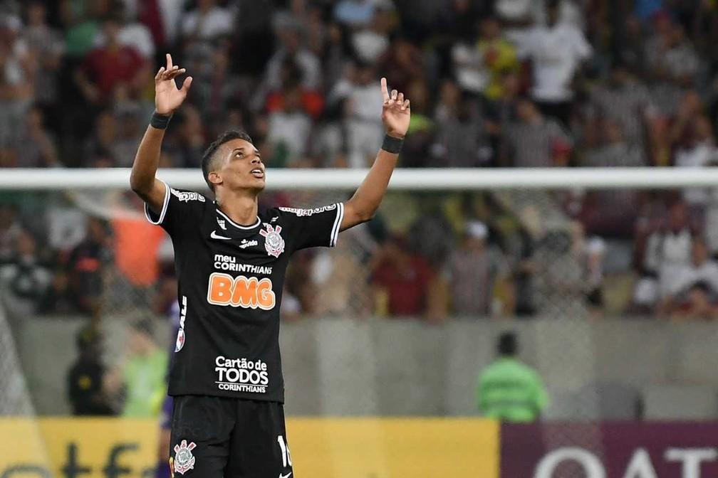 Pedrinho é uma das ausências do Corinthians no Majestoso — Foto: Alexandre Durão, GloboEsporte.com