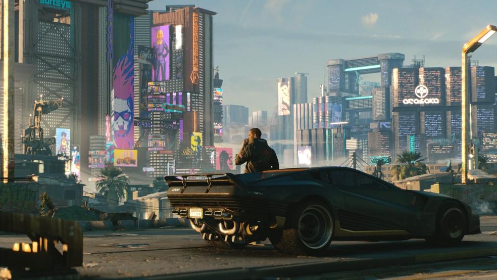 Cyberpunk 2077 se passa em um futuro sombrio (Foto: Divulgação/CD Projekt Red)