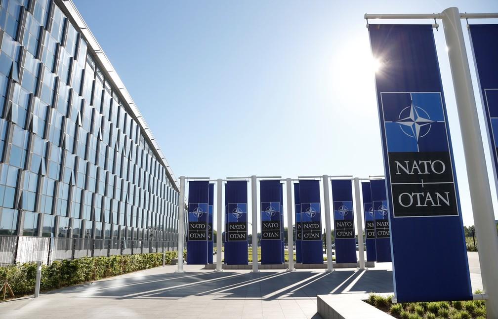 Novo edifício-sede da Otan em Bruxelas — Foto: Reuters/François Lenoir