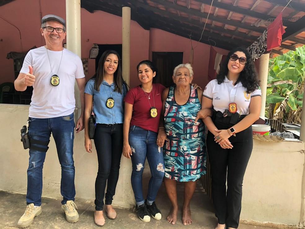 Equipe da Delegacia da Mulher de Barra do Corda — Foto: Divulgação/Polícia Civil