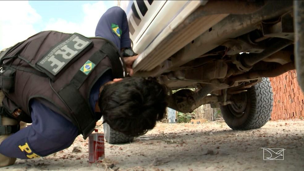 Quadrilha vendia os veículos roubados através de financiamentos bancários com longos prazos, uma manobra que engana as vítimas. (Foto: Reprodução/TV Mirante)