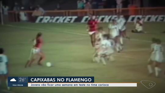 Jovens do Espírito Santo apostam em sonho de jogar no Flamento