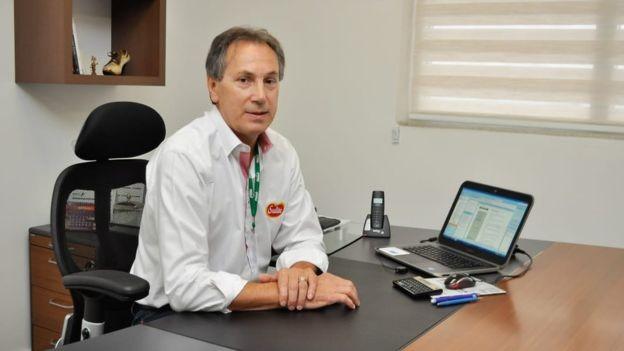 Mario Faccin continua otimista com o resultado da empresa para 2019, mas adiou investimentos para 2020 (Foto: DIVULGAÇÃO/MASTER, via BBC News Brasil)