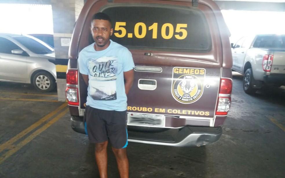 Suspeito estava foragido (Foto: Divulgação/SSP-BA)