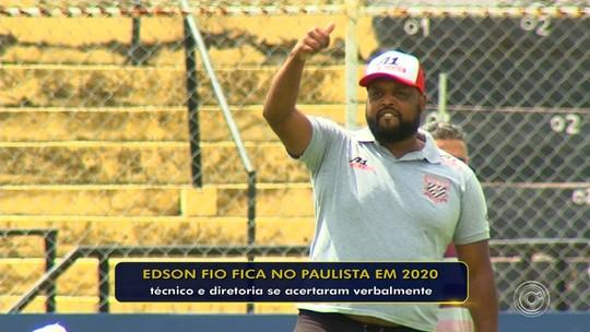 Edson Fio chega a acordo e será o técnico do Paulista na Série A3
