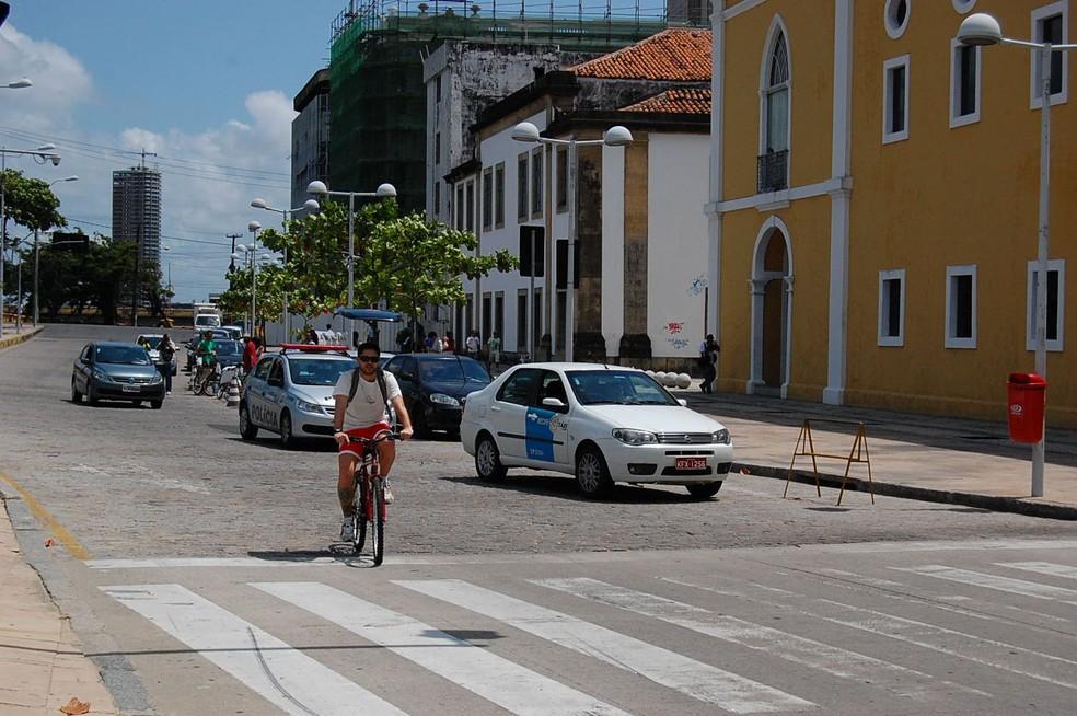 Largada será dada no Cais da Alfândega, no Bairro do Recife (Foto: G1/Arquivo)