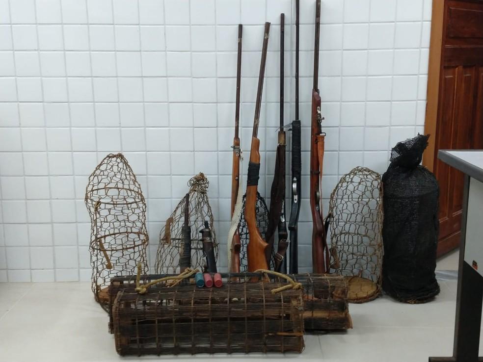 Dos 27 animais encontrados, cinco estavam abatidos — Foto: SSP-BA/Divulgação