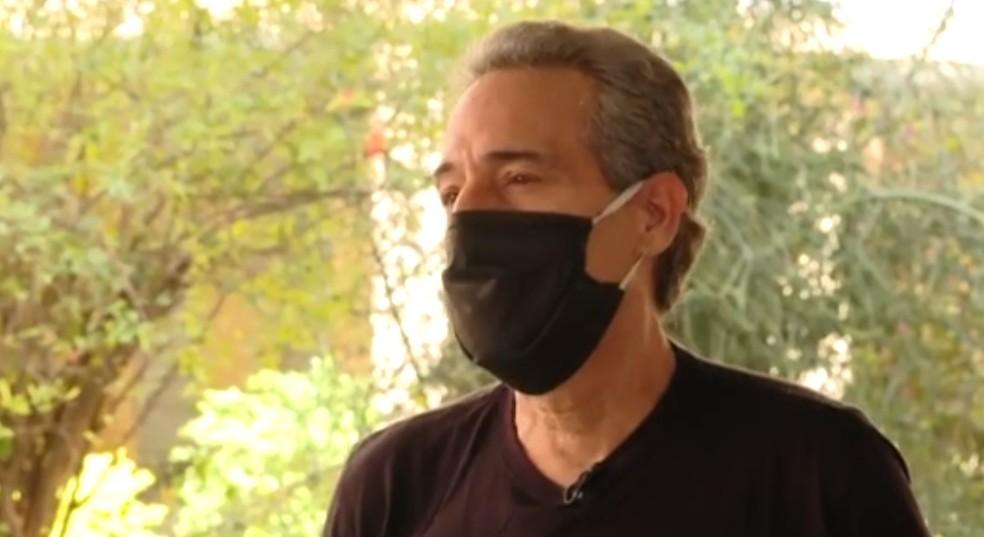 Pai de Thiago Cortes, brasileiro morto na Irlanda, fala sobre a perda: 'Filho não morre, se distancia' — Foto: Reprodução/ TV Globo