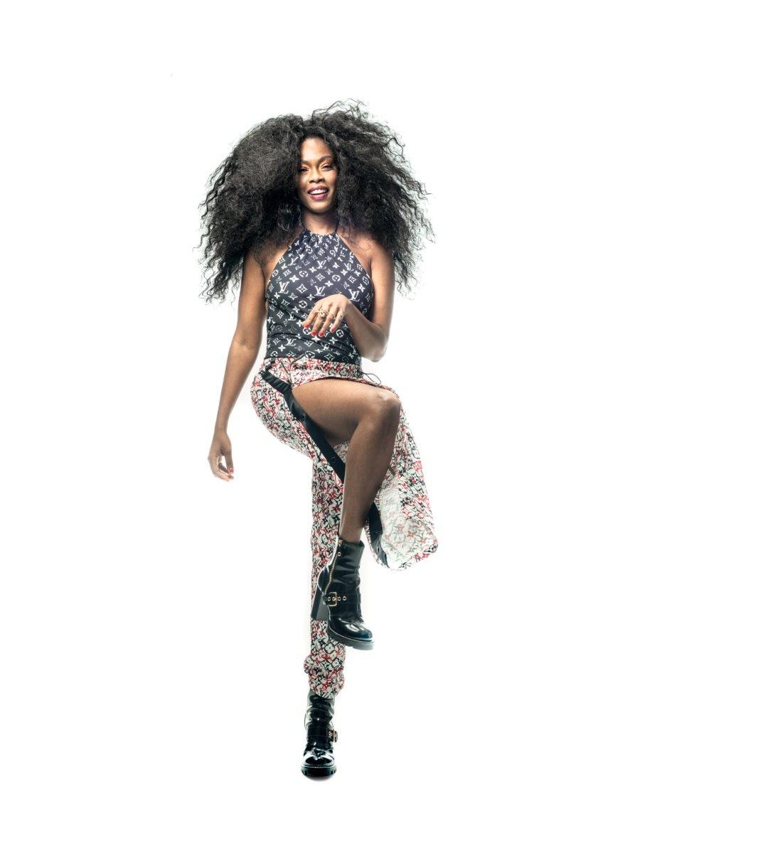 Xênia França, uma das #GQVozes que representam a nova música brasileira (Foto: Pedro Dimitrow)