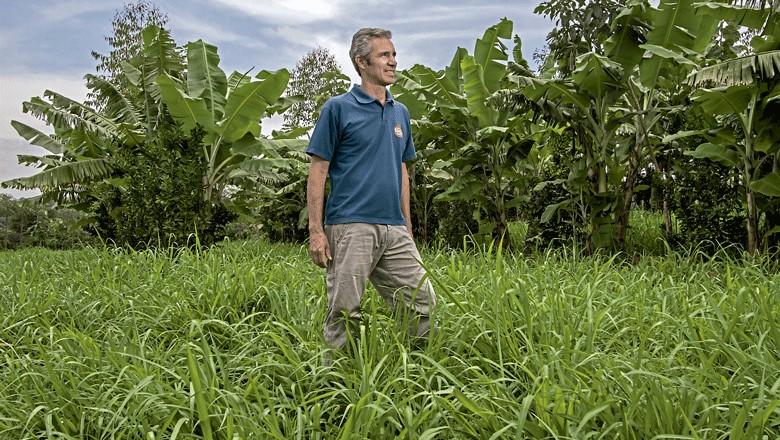 fazendeiro-pedro-diniz-agricultura-sintropica-edicao-370-agosto-2016 (Foto: Rogério Albuquerque / Ed. Globo)