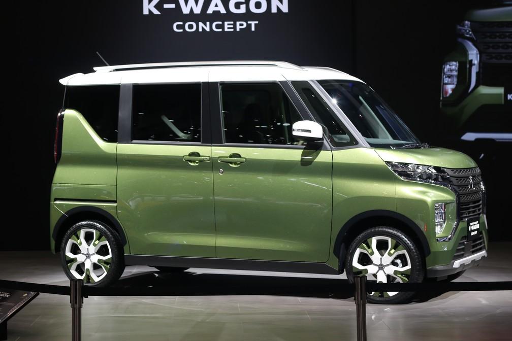 Mitsubishi K-Wagon Concept — Foto: Rafael Miotto/G1