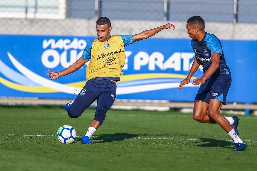 Alisson se recuperou recentemente de lesão muscular (Foto: Lucas Uebel / Grêmio / Divulgação)