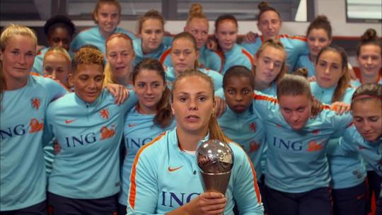 Repórter fala de Lieke Martens, eleita melhor jogadora do mundo da Fifa