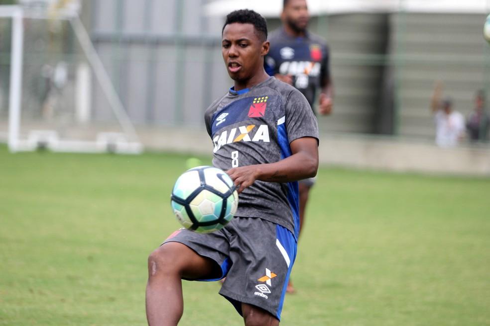 Wellington precisa rescindir com o São Paulo antes de fechar com o Vasco (Foto: Paulo Fernandes/Vasco)