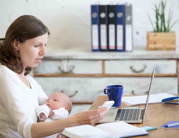 Maternidade e carreira (Foto: ThinkStock)