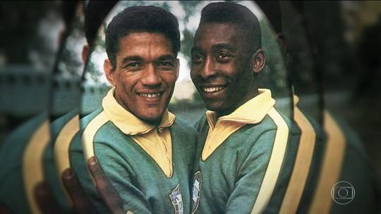 Há 52 anos, Pelé e Garrincha jogavam juntos pela última vez pela Seleção