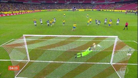 Luís Roberto comenta a vitória do Brasil em amistoso contra Honduras por 7 a 0