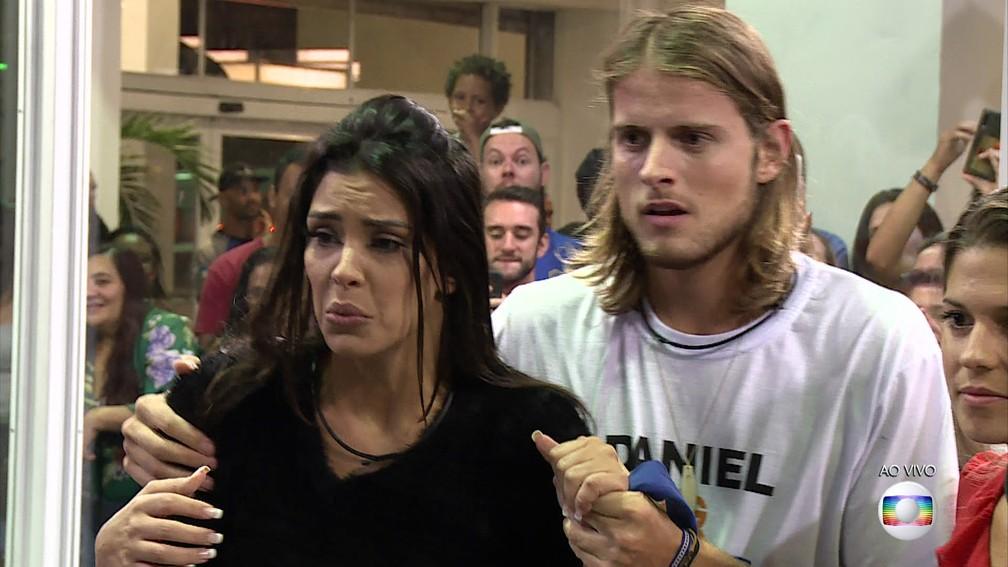 Daniel e Ivy, da Casa de Vidro, são os novos participantes do BBB20 — Foto: Reprodução/TV Globo