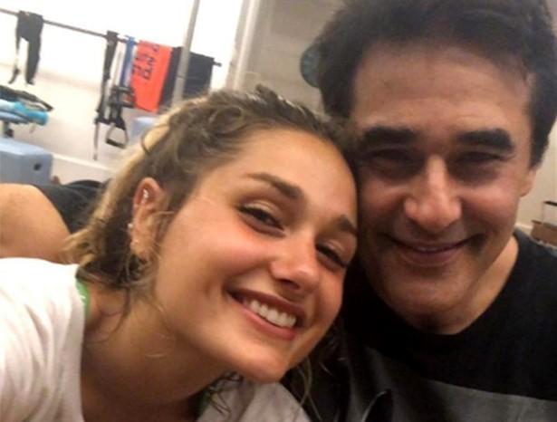 Sasha e o pai, Luciano Szafir (Foto: Reprodução/Instagram)