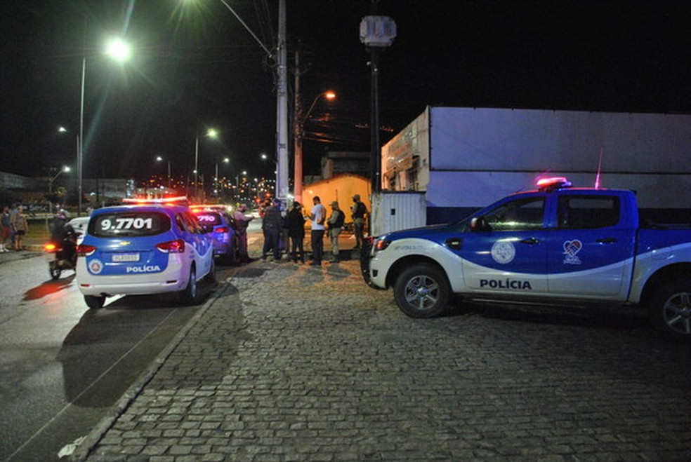 Em outubro de 2020, uma travesti foi morta a tiros em Vitória da Conquista, no sudoeste da Bahia — Foto: Anderson Oliveira / Blog do Anderson