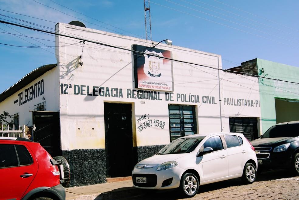 Delegacia de Paulistana investiga o caso — Foto: Júnior Oliveira/Cidades na net