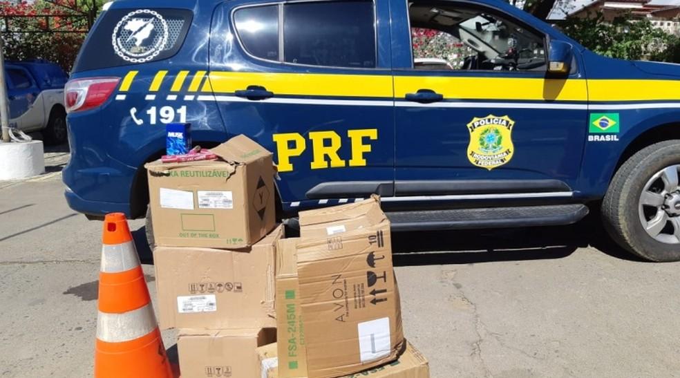 Ação aconteceu em Jequié, região sudoeste da Bahia — Foto: Polícia Rodoviária Federal