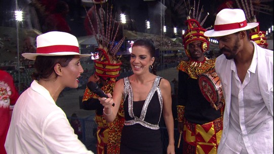 Camila e Rocco Pitanga falam sobre a emoção de desfilar o enredo sobre o pai