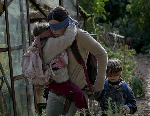 Sandra Bullock em Bird Box (Foto: Divulgação)
