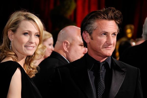 Robin Wright e Sean Penn na época de casados (Foto: Getty Images)