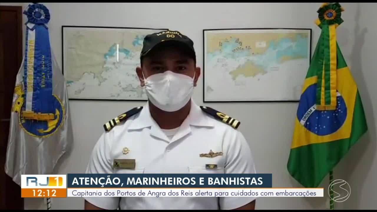 Capitania dos Portos de Angra dos Reis alerta para cuidados com embarcações