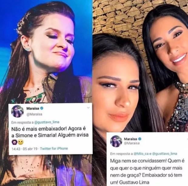 Maraisa critica Simone e Simaria (Foto: Reprodução/Instagram)