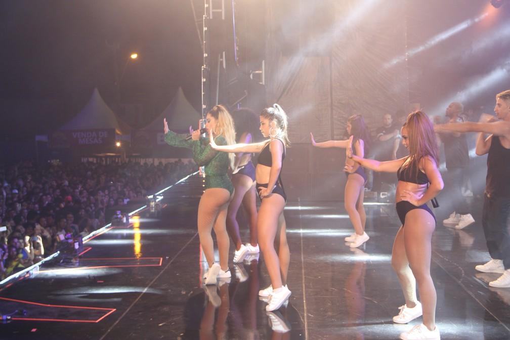 Anitta no Fest Verão Paraíba 2018 (Foto: Dani Fechine/G1)