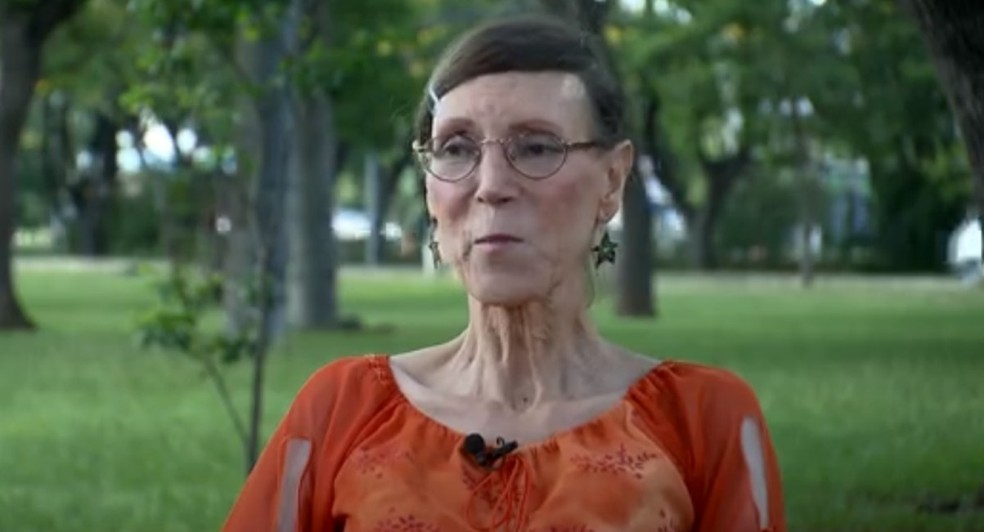 Maria Luiza da Silva, primeira mulher transexual nas Forças Armadas do Brasil — Foto: TV Globo/Reprodução