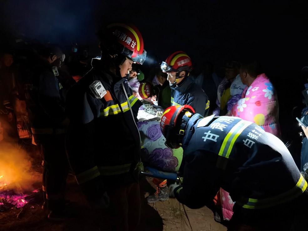 Corrida de aventura na China termina em tragédia: 21 mortes — Foto: REUTERS